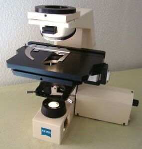 Zeiss Axiolab Re Microscope W Ludl Lep Mechanical Stage