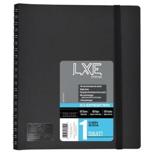 Lxe 1 Subject Upgrade Poly Spine Wrapped Notebook Case Of 12