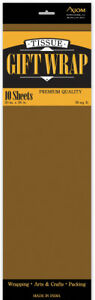 Brown Tissue Paper Case Of 24