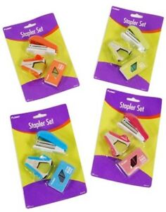 3 Pack Stapler Staple Puller And Staple Set Case Of 48