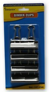 8 pack Binder Clips Case Of 48