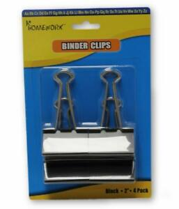 4 pack Binder Clips Case Of 48