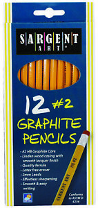 2 Standard Yellow Pencils 12 Count Case Of 24
