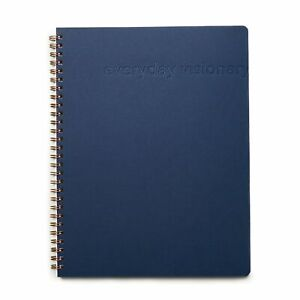 Everyday Visionary 12 week Undated Daily Planner Navy