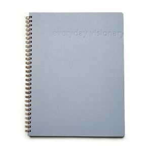 Everyday Visionary 12 week Undated Daily Planner Grey