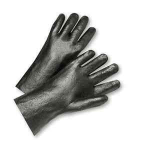 Westchester Pvc Interlock 12 Safety Work Glove Black