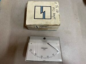 New In Box Weschler 0 100adc Panel Meter 670b953a15