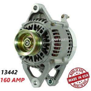160 Amp 13442 Alternator Jeep Wrangler Tj High Output Perfomance New Hd