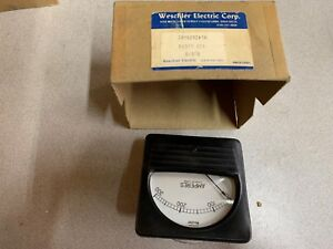 New In Box Weschler 0 300 Amp Panel Meter 291b29a18