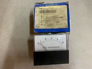 New In Box Eil 0 50 Amp Panel Meter 251340lssf