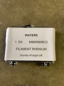 New Waters Micromass Source Filament Rhenium M960080bc2 Gct Mass Spectrometer