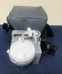 Devilbiss Portable Home Suction Unit 7305p d Series With Accessories