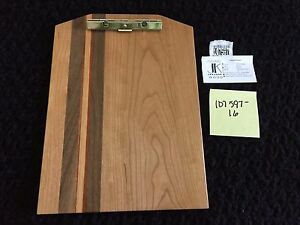 New Exotic Wood Clip Board Walnut Cherry Padauk Purple Heart 107597 16