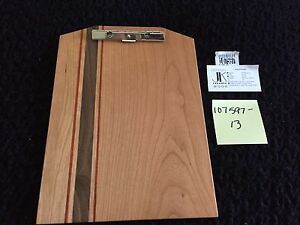 New Exotic Wood Clip Board Walnut Cherry Padauk 107597 13 Men Dad Father Gift