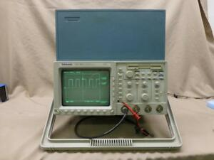 Tektronix Tds460a 400mhz 4ch Dso Digital Oscilloscope W Front Cover
