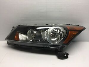 2008 2009 2010 2011 2012 Honda Accord Oem Halogen Left Driver Side Headlight