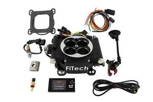 Fitech 30002 Go Efi 4 600 Hp Self Tuning Fuel Injection System Black