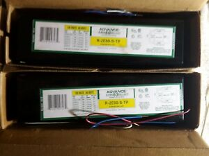 lot Of 2 Advance Ballast R2e60stp R 2e60 s tp