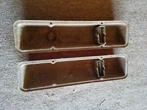 Sbc Small Block Chevy Oem Steel Valve Covers 283 327 350
