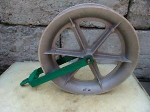 Greenlee 24 Inch Sheave For Greenlee Tugger Puller Nice Shape 2 12 10