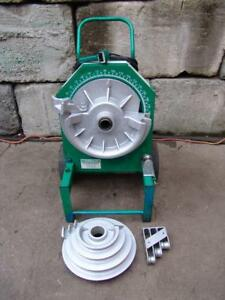 Greenlee 555 Bender 1 2 2 Inch Pipe Electric Bender Very Late Model 4