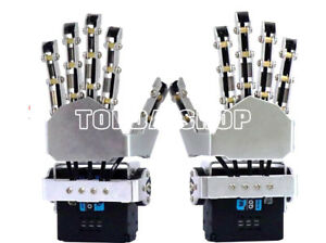Sr wz1 Robot Five Fingers Mini Mechanical Claw Movable Metal Bionic Hand xh