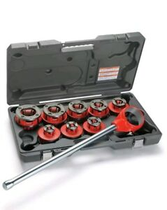Ridgid 36505 1 8 In To 2 In Npt 12 r Exposed Ratchet Threader Set