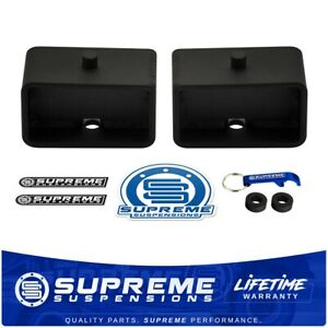 3 Inch Rear Leveling Steel Blocks For 1995 2019 Toyota Tacoma Tundra 2wd 4wd