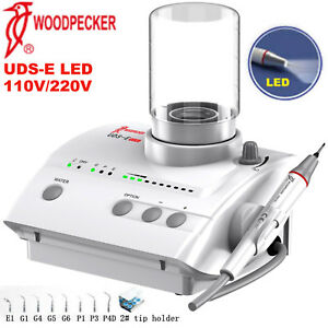 Woodpecker Uds e Led Dental Piezo Ultrasonic Scaler Led Handpiece 110v 220v Ems