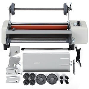 13 A3 Roll Laminator Four Roller Hot Cold Laminating Machine For 335mm Paper