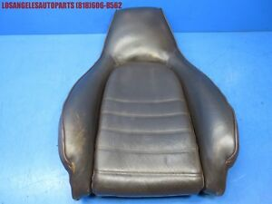 Porsche 911 964 944 951 968 Front Left Or Right Seat Backrest Leather Brown