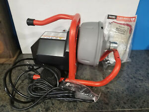 New Out Of Box Ridgid K40 Sink Machine With C 13 5 16 In Inner Core Cable 115v