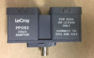 Lecroy Pp092 2gs s Adaptor For Model 9354 Or Lc334