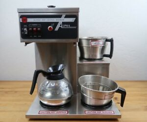 Wilbur Curtis Commercial Coffee Brewer Model Scalpha 3sp 12 3 Station Tested