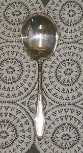 International Stratford New England Rosemary Silverplate Casserole Serving Spoon