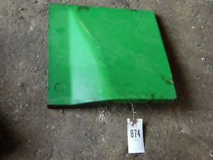 John Deere 2010 Tractor Lower Dash Cover Left Tag 874