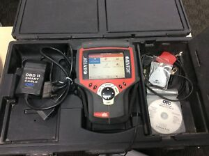 Mac Tools Mentor Diagnostic Scanner W cables Manual Case Extras