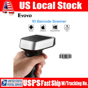 Handheld Usb Wired Wireless Connection Barcode Scanner For Android Computer Pc