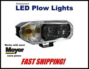 Meyer Super Bright led Snow Plow Headlight Replacemant Plow Light Kit