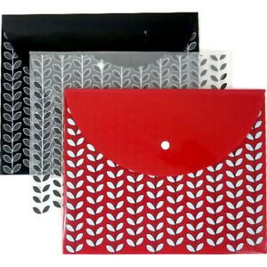 Poly Snap Envelope Letter Size Assorted Case Of 24