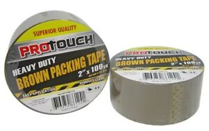Heavy Duty Brown Packing Tape Case Of 48