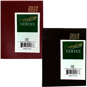 2019 Executive Series Daily Planner Case Of 48