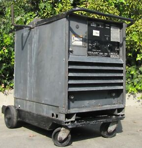 Lincoln Idealarc R3r 300 Dc Arc Stick Welder Power Source 230 460v 3 Phase