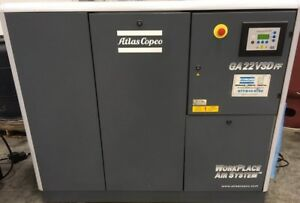 Atlas Copco Ga22vsd Used Air Compressor Yr 2008 Zag 8383