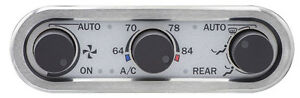 Dakota Digital Three knob Climate Controller For Vintage Air Gen Iv Dcc 3000 New