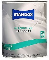 395 Standox Standohyd 1 Litre Waterbased Extra Fine Silver Basecoat Tinter