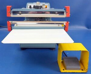 American International Electric 12 Tabletop Double Impulse Sealer Aie 305fda