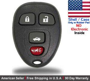 1x New Keyless Entry Remote Control Key Fob For Chevy Buick Gmc Shell Case