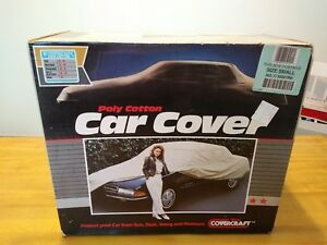 Polly Cotton Covercraft Car Cover Size Small No C30001rb New In Box