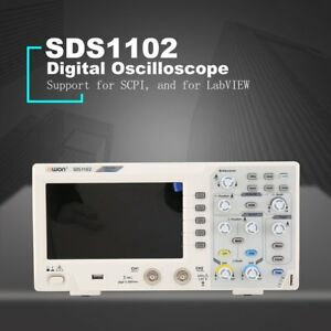 Owon Sds1102 2 Channel Lcd Super economical Type Digital Storage Oscilloscope Om
